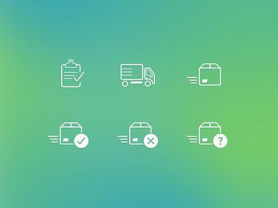 App Icons Orders Status App Icon Order Status Icon