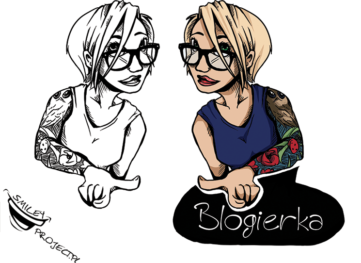 Blogierka Rysunek Logo
