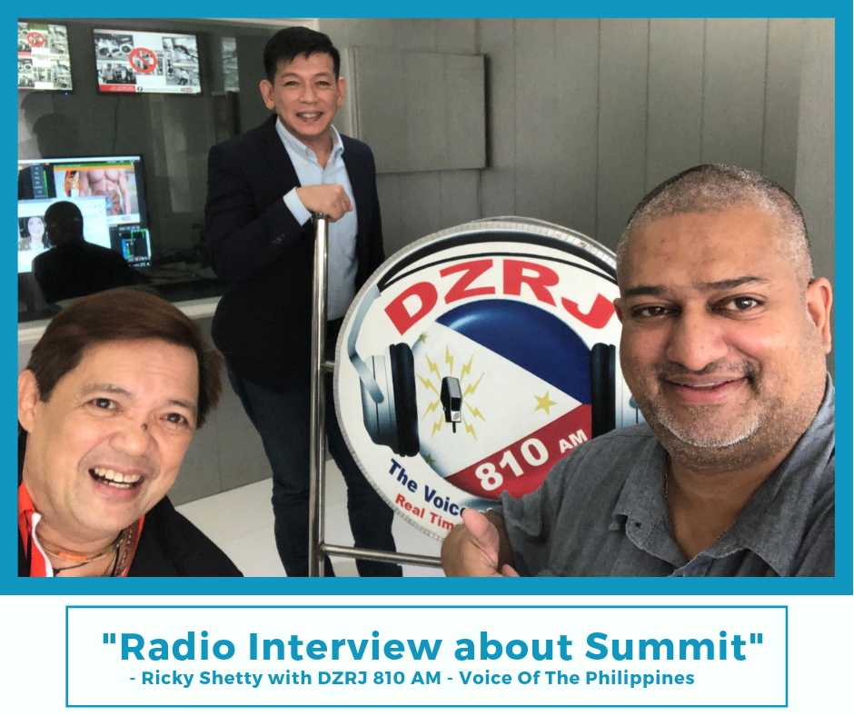 The Freedom Summit Interview by DZRJ 810 AM Voice of the