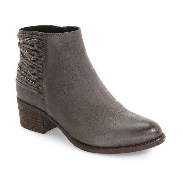 Explore Grey Leather, Smooth Leather, and more! Women's Steve Madden Chilly  Leather Bootie ...