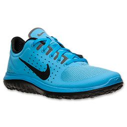 Best Men's Cheap Nike Free 3.0 V5 Black/Sky Blue/White Running Shoes