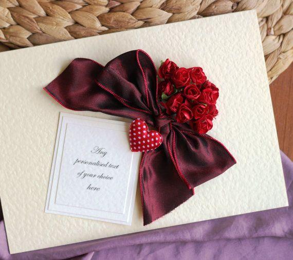 Personalised Birthday Card Boyfriend Husband 1st One By Thymerose