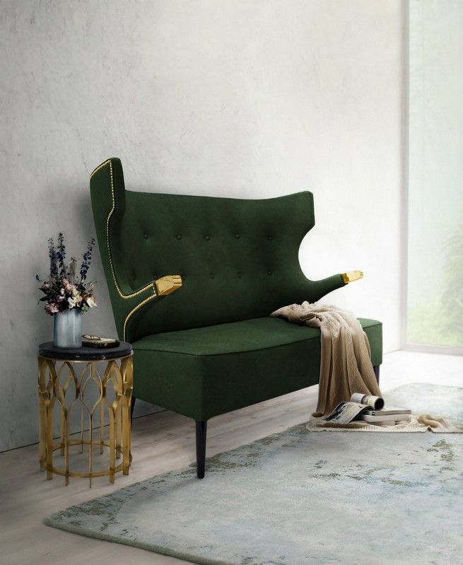 Black And Gold Side Tables For Luxury Homes Sofa Design Modern
