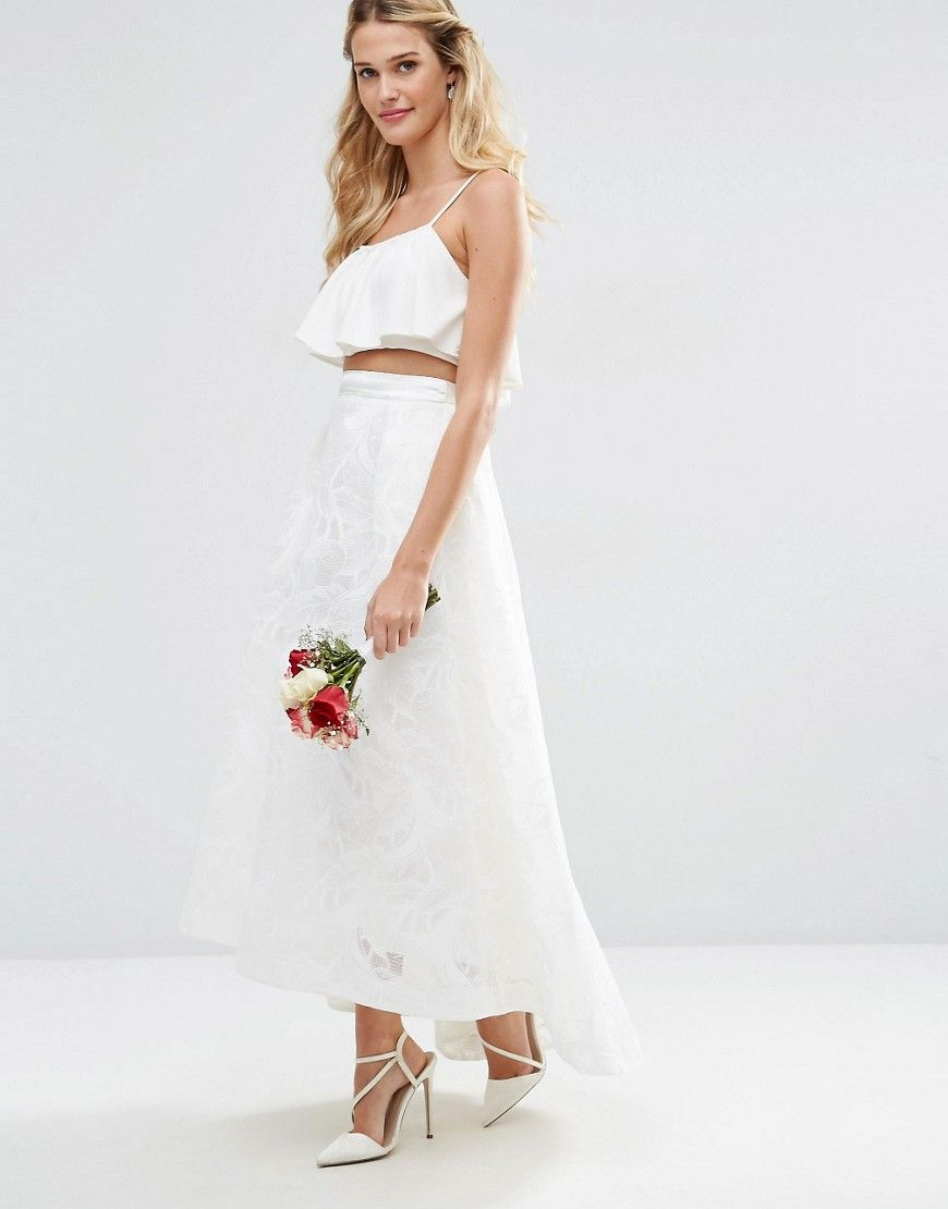 Image of asos bridal full lace prom skirt my polyvore finds