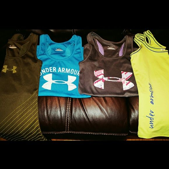 Selling this Under Armour women's breathable tanks! in my Poshmark closet! My username is: lulouperry. #shopmycloset #poshmark #fashion #shopping #style #forsale #Under Armour #Tops