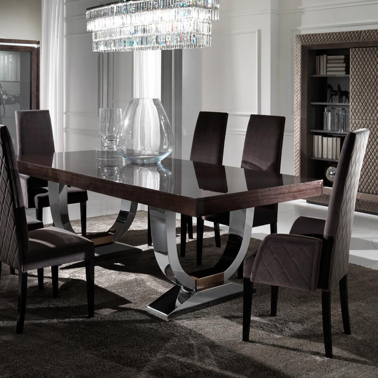 126 Custom Luxury Dining Room Interior Designs: 43 Luxury Modern Italian Dining Room Sets Ideas