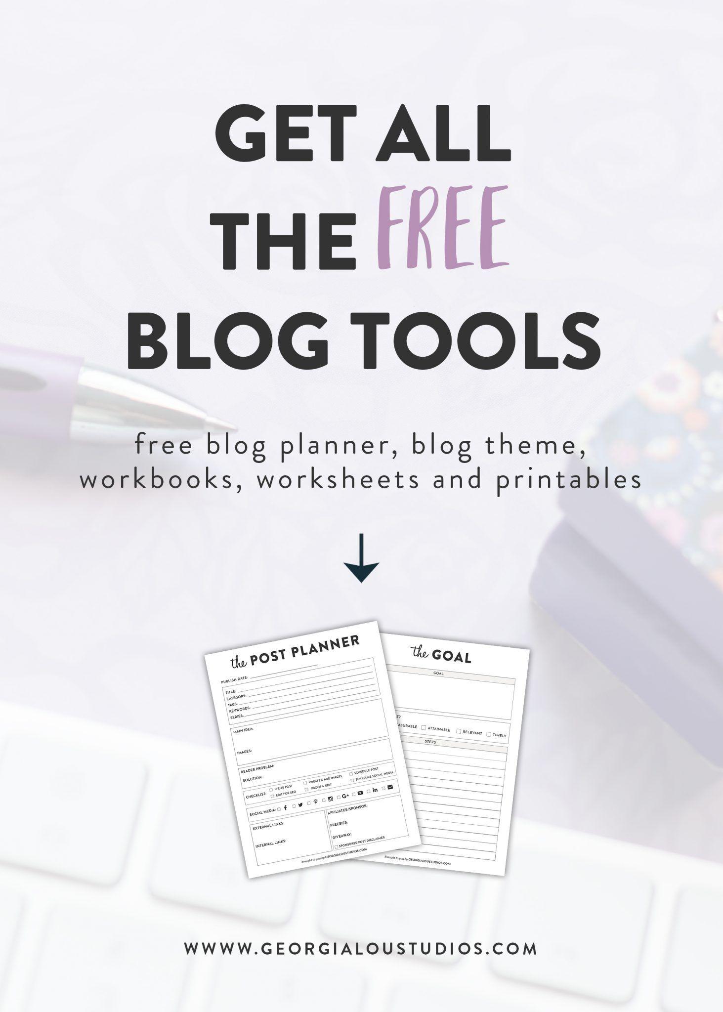 Free Blogging Resource Library, Free Downloads Blog