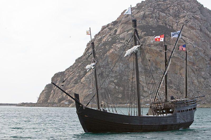 """Niña"" replica - Morro Bay CA."