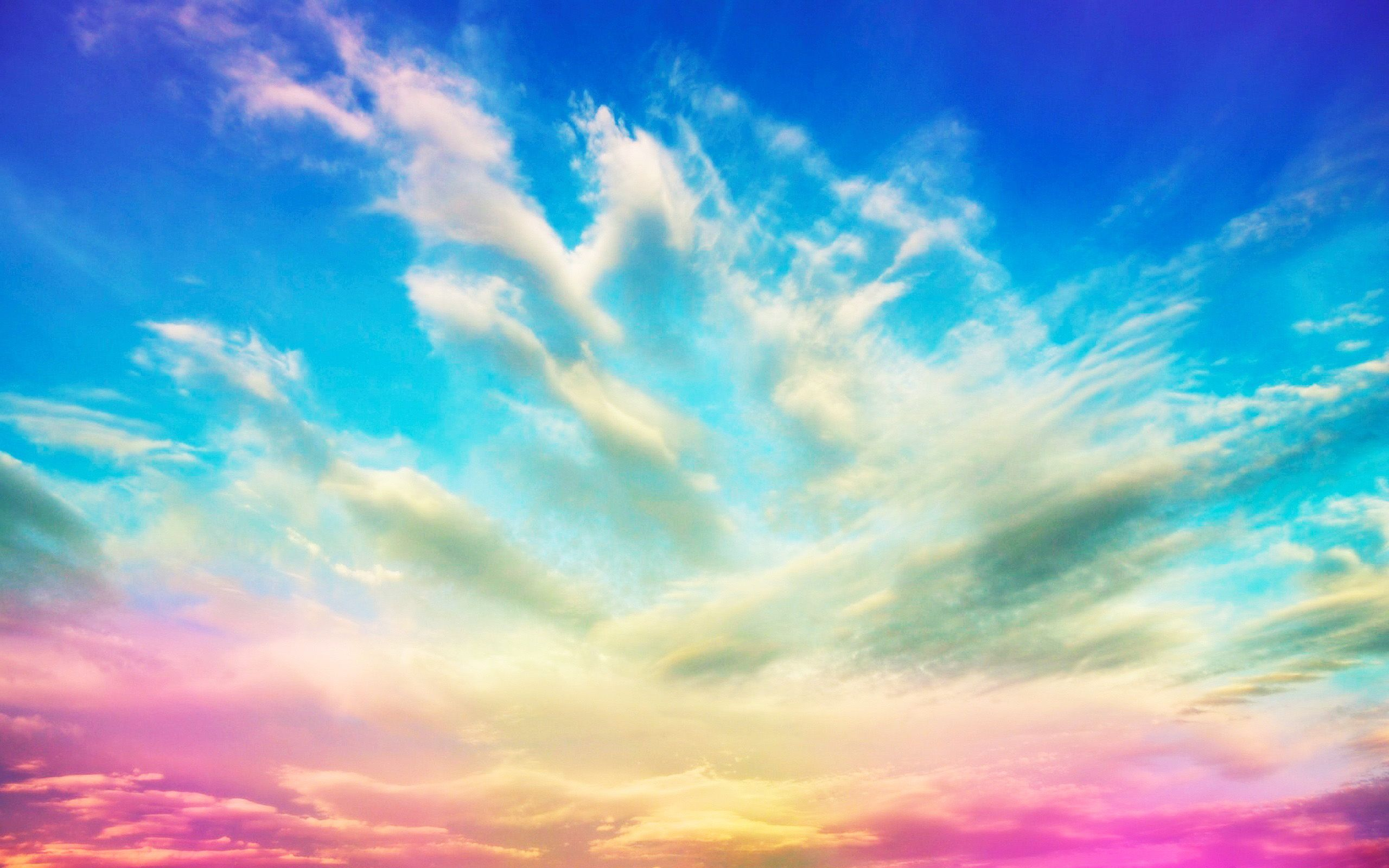 Colourful Fantasy Cloud Backgrounds: Colorful Cloud Background HD