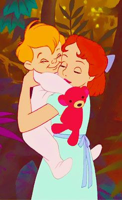 Wendy and Michael-peter pan