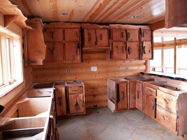 Wonderful Rustic Style Custom Cabinets, Western Kitchen Cabinets, Western Dresser,  Western Shelves