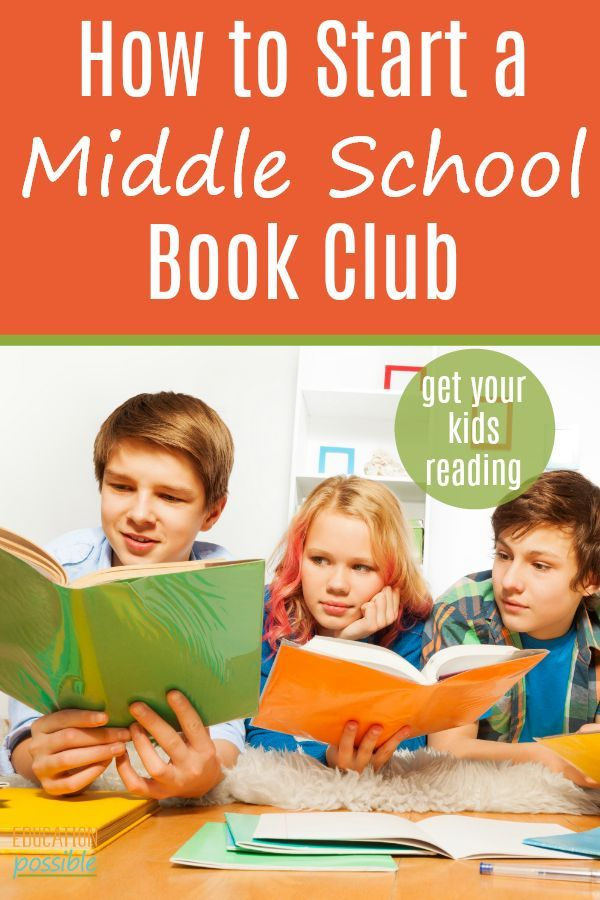 How to Start a Middle School Book Club
