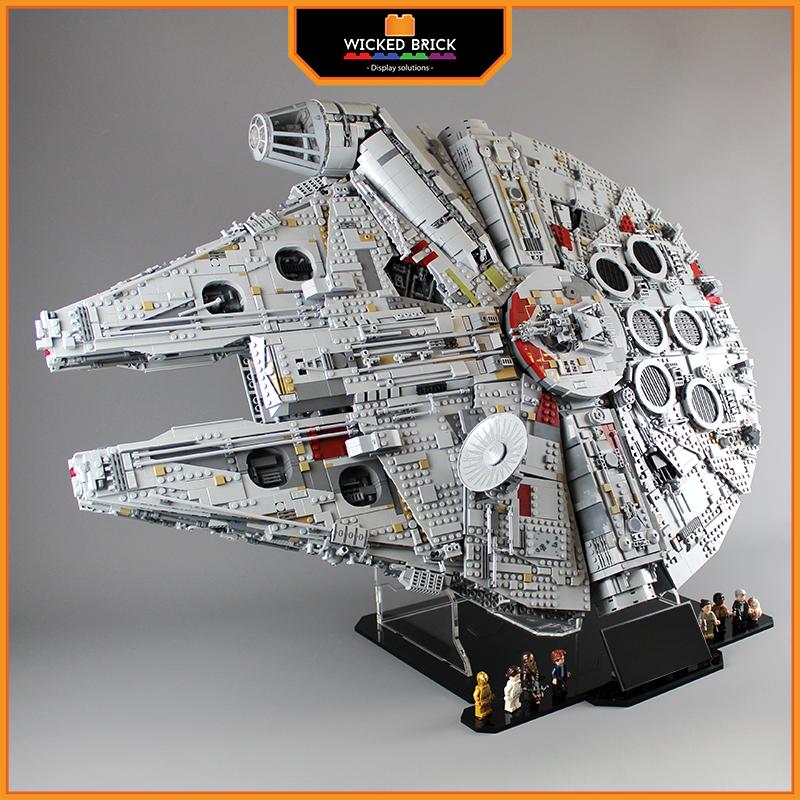Display Solution For Lego Star Wars Millennium Falcon 75192 10179 Lego Star Wars Sets Lego Star Wars Largest Lego Set