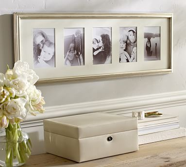 Eliza Gilt Multiple Opening Picture Frame, Champagne Gilt finish ...