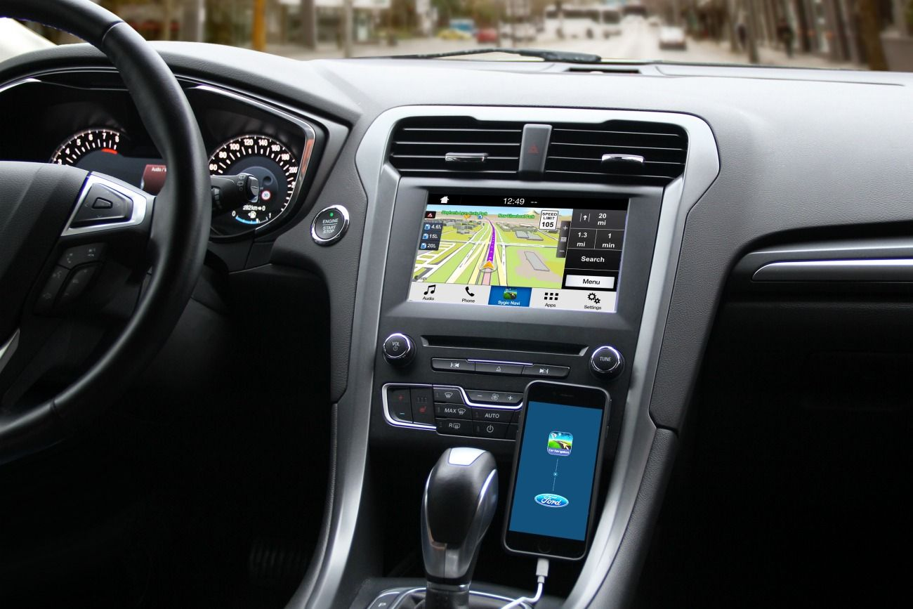 Ford Is Partnering Up With Sygic For Gps Nav Integration Ford