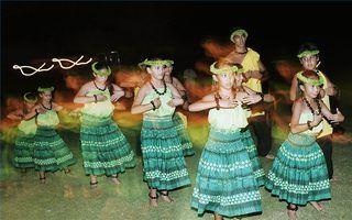 How To Hula Dance To The Hukilau Song Ehow Polynesian Dance Hula Dance Hawaiian Birthday Party