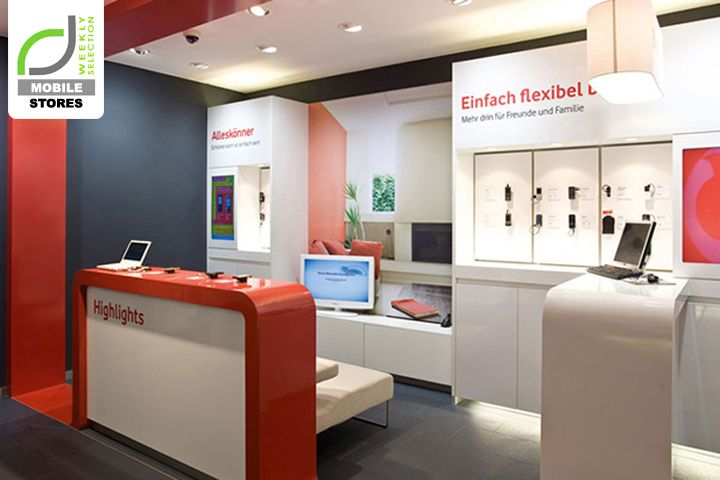MOBILE STORES! Vodafone shops, Germany | Store Design | Pinterest ...