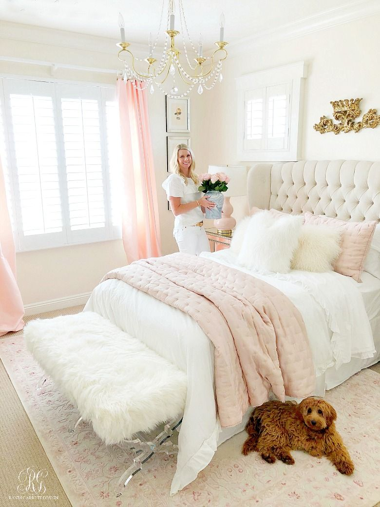 3 Simple Ways To Add Pink To Your Home Randi Garrett Design Interior Design Bedroom Small Bedroom Decor Pink Bedroom Decor