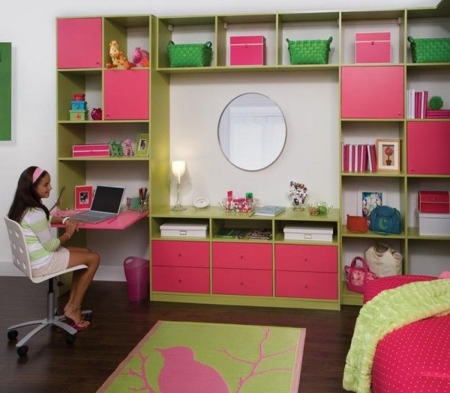 Another Desk Area Childrens Bedroom Storage Bedroom Wall Units Building For Kids