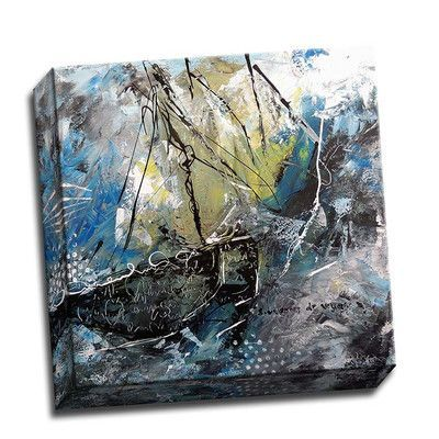 Picture it on Canvas 'Navy 101' Painting Print on Wrapped Canvas