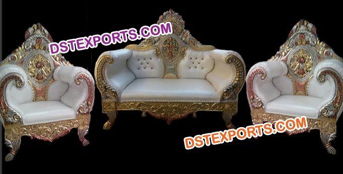 Wedding Maharaja Sofa Set Dstexports Sofa Set Sofa Furniture