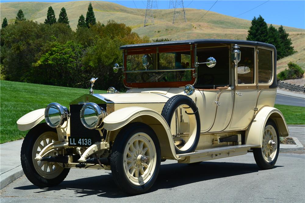 1914 ROLLS-ROYCE 40/50HP SILVER GHOST LANDAULETTE BY BARKER   Old ...