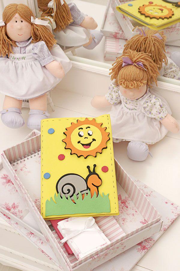 Capa para caderno de EVA