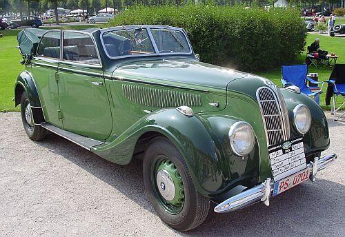 1939 Bmw 335 Cabriolet Coachwork By Karosserie Autenrieth Of