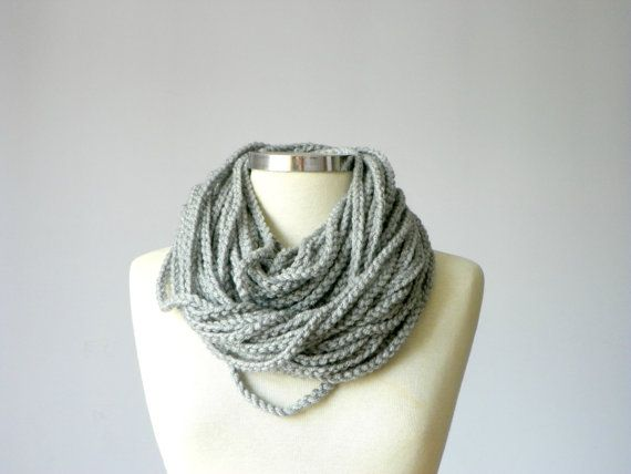 Ombre, infinity scarf, chunky scarf, Cowl scarf, winter accessories ...
