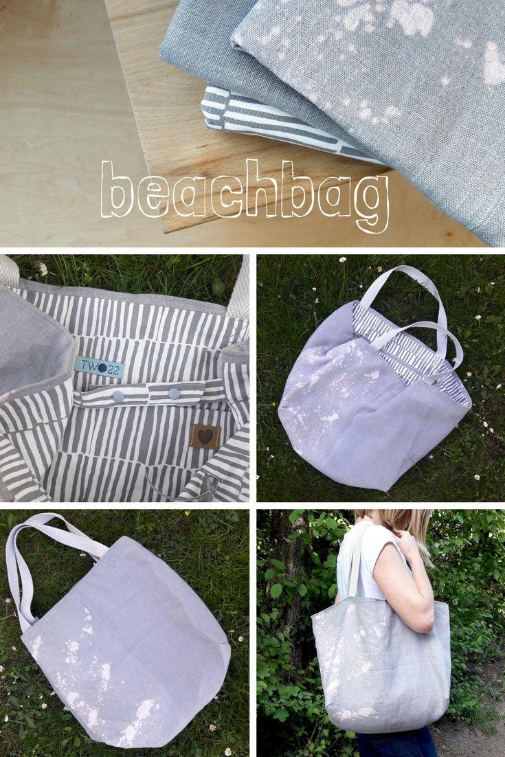 Eine Tasche im XL Format, perfekt für Sommer, Sonne & Meer oder ...