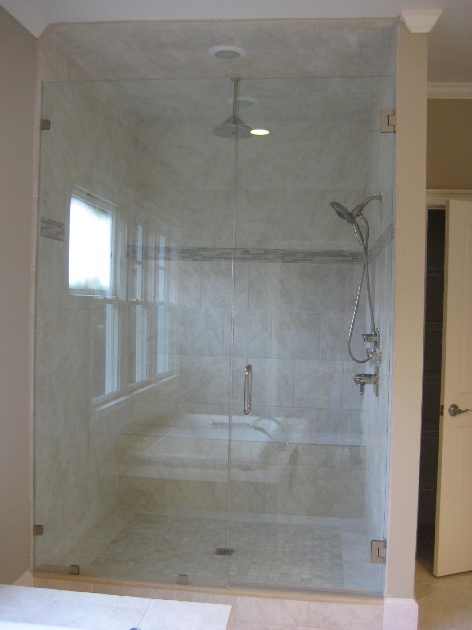 Gorgeous Tile for your Bathroom shower, floor and tub using NO VOC ...