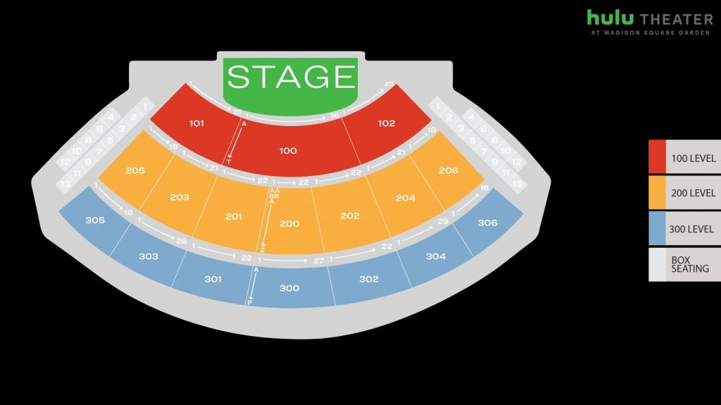 Elegant The Theater At Madison Square Garden Virtual Seating Chart