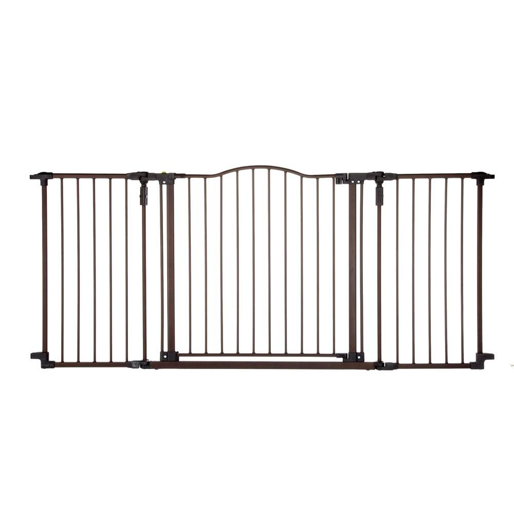Deluxe Decor Gate 4934 The Home Depot In 2020 Baby Safety Gate Wide Baby Gate Baby Gates