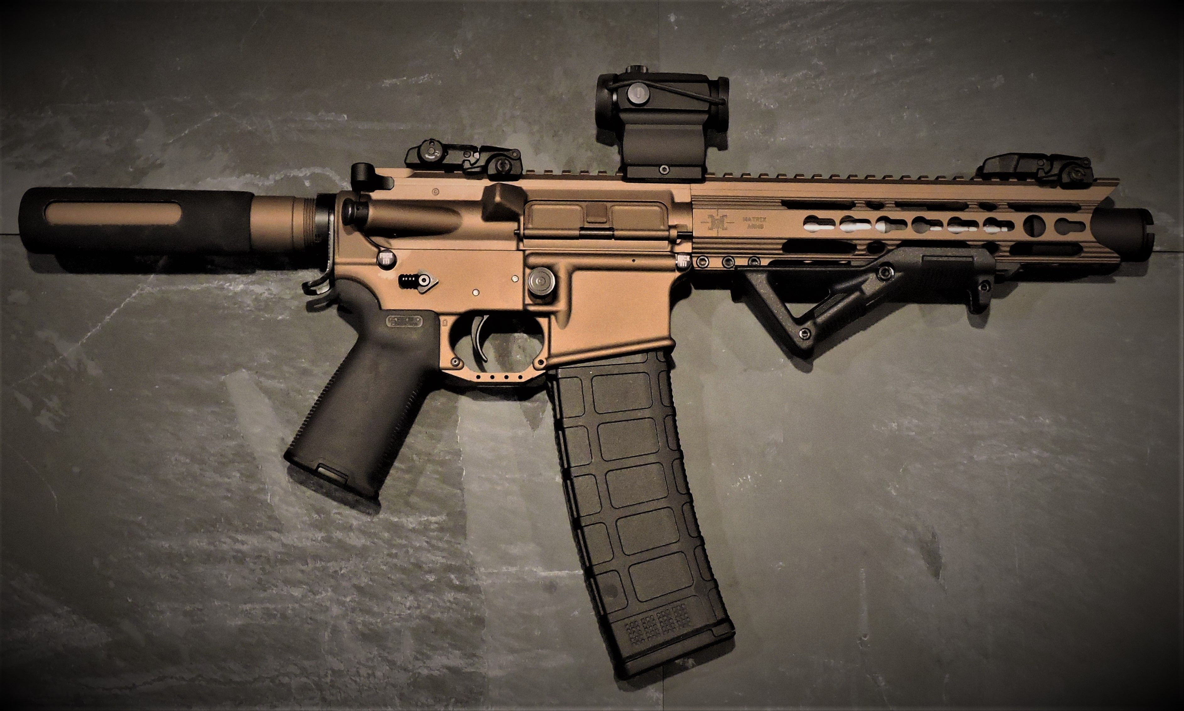 Nerf painted AR pistol | Painted Guns | Pinterest | Ar pistol, Guns ...