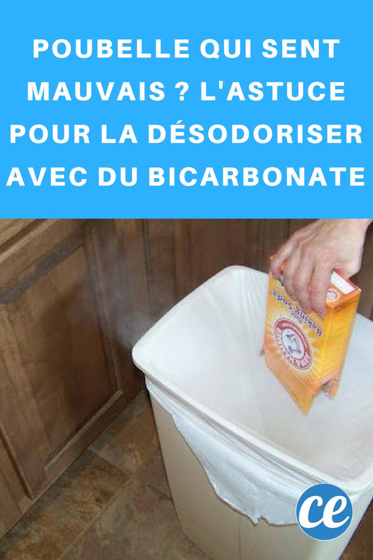 Comment Désodoriser Un Four Micro Ondes poubelle qui sent mauvais ? l'astuce pour la désodoriser