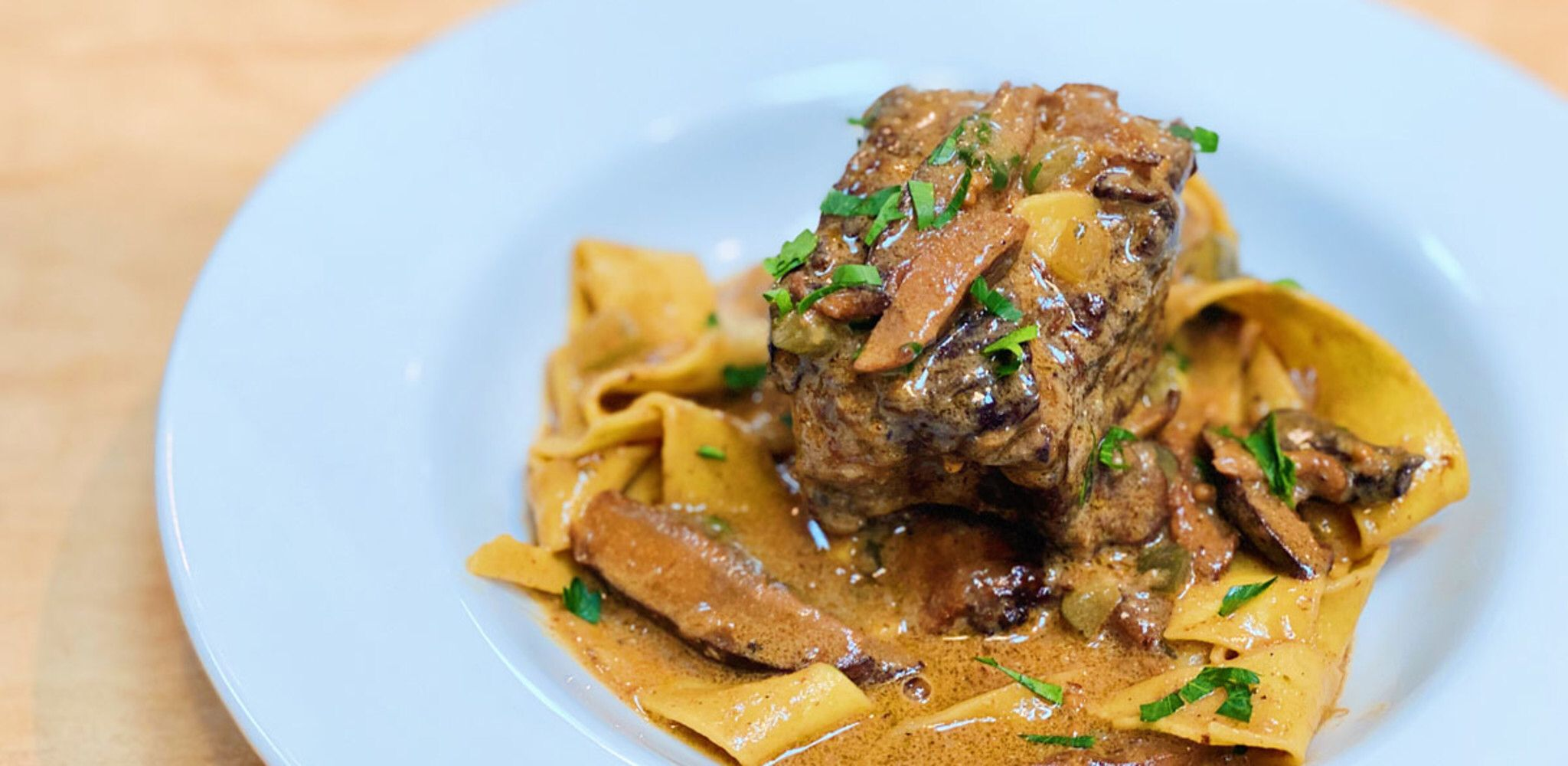 Short Rib Stroganoff by Michael Symon