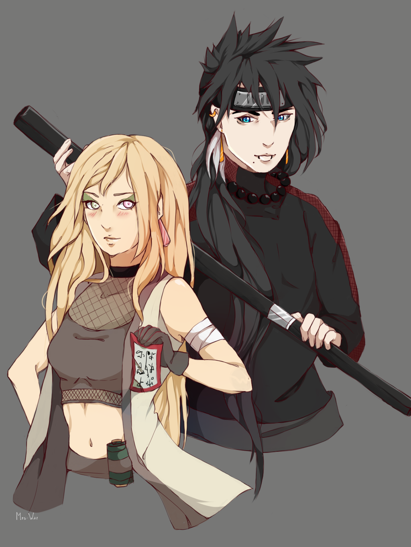 Sadako and Rizar by on