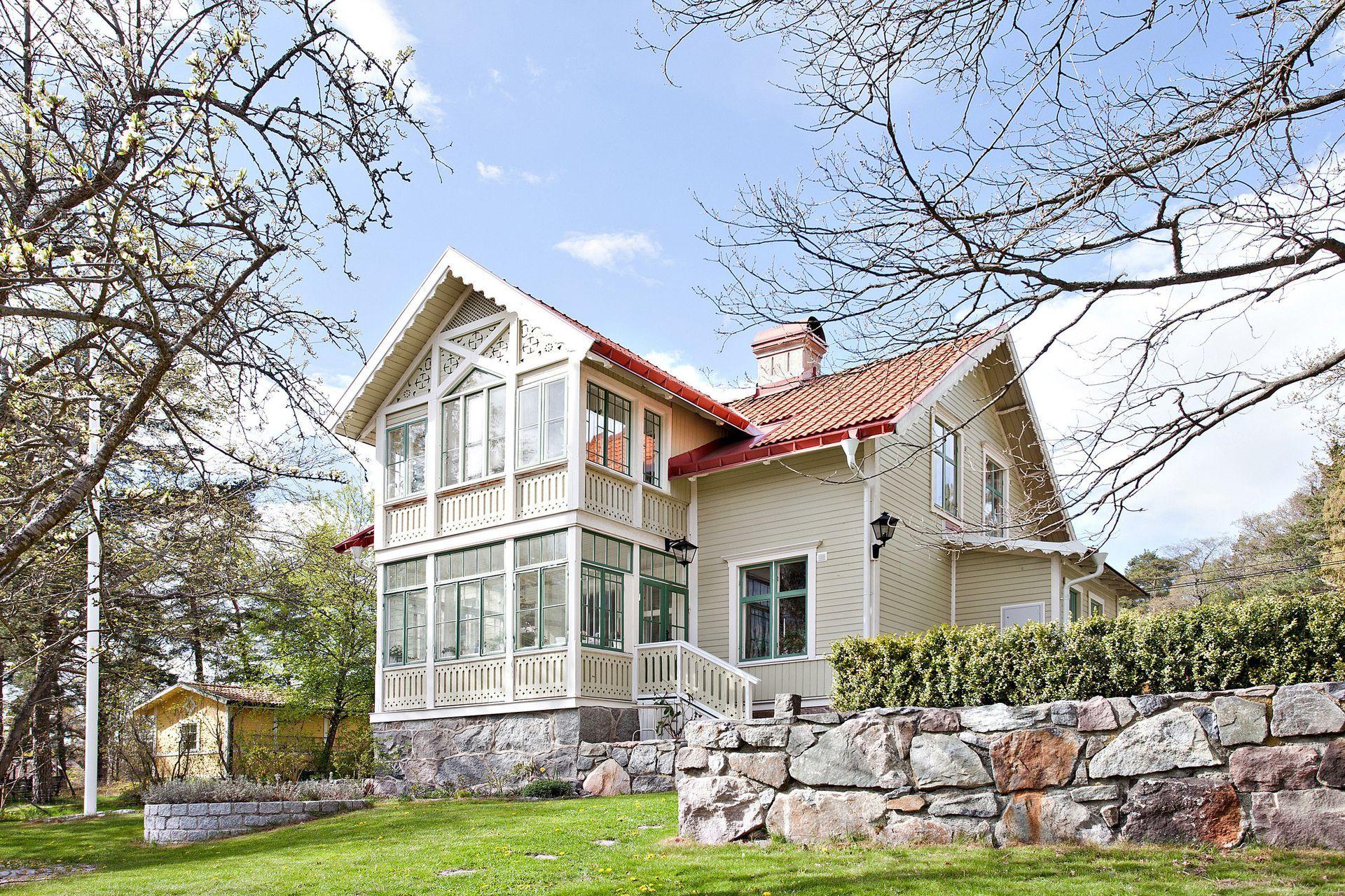 Sekelskifte exterior pinterest schwedenhaus anbau for Skandinavien haus bauen