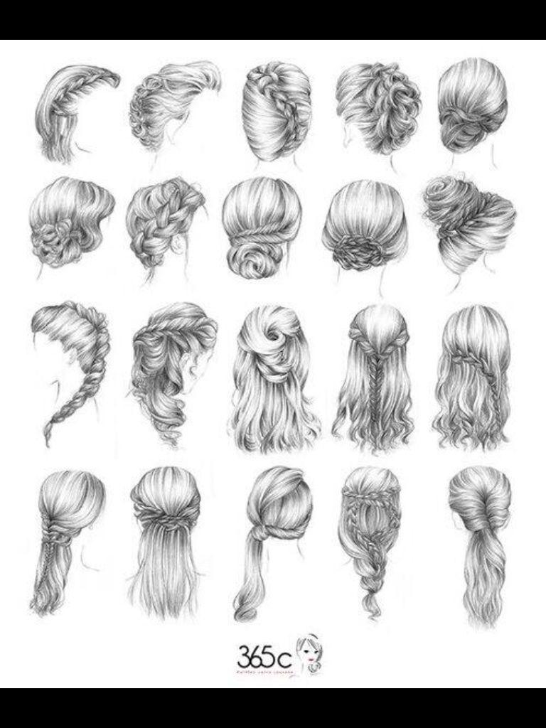 Different styles hair haar ideeën pinterest