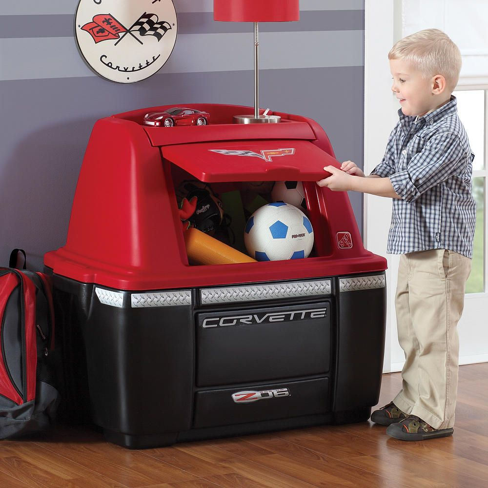 Step2 Corvette Storage Chest Step2 Toys R Us Kids Storage Toy Storage Bins Storage Chest