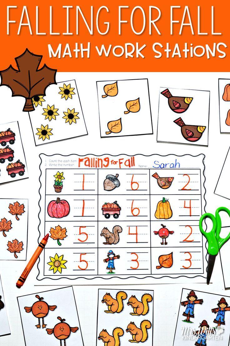 Math Centers ~ Fall