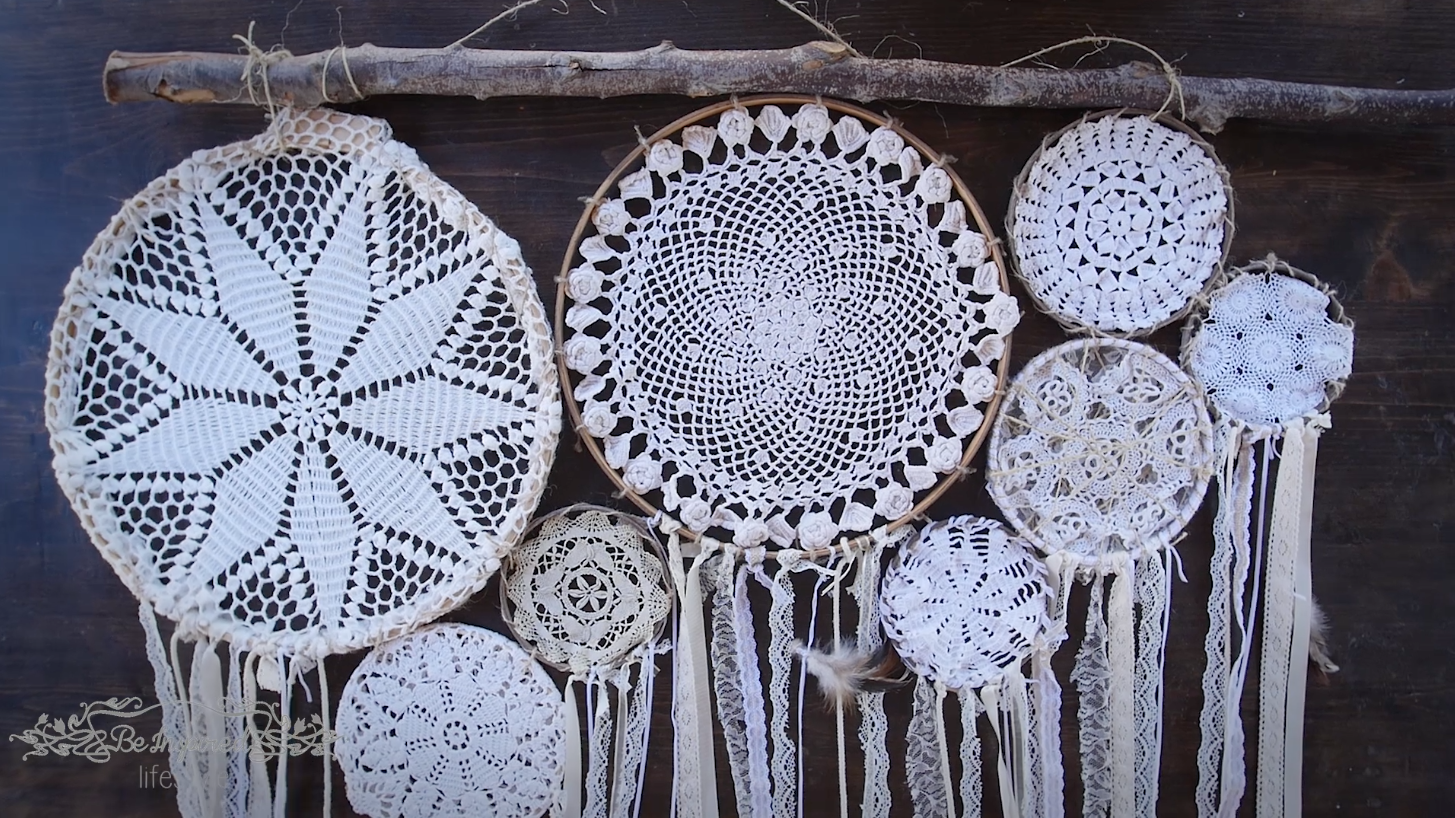 Diy Dream Catcher Wall Hanging Be Inspired Lifestyle Dream