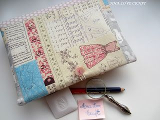 Ana Love Craft: PORTA BLOCO NOTAS - NOTE BOOK COVER