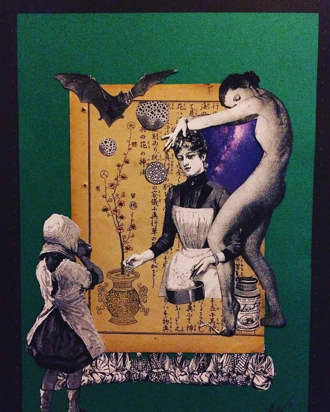 『薬膳』#空想架空マンション#art#artwork #collage#collageart #original#medicinalcooking#medicinal #コラージュ #薬膳#薬膳料理 #cooking#クッキング #analog#analogart #美留町kuu✂︎#dark#black