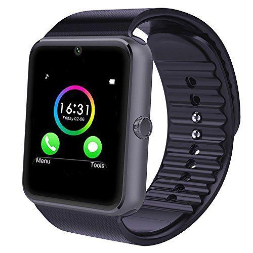 Aktivitätstracker MINLUK Fitness Armband mit Pulsmesser Blutdruckmesser Fitness Tracker schwarz Sportelektronik