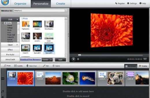 تحميل برنامج wondershare dvd slideshow builder