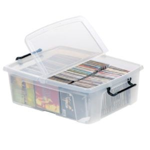 Plastic Cd Dvd Storage Boxes  sc 1 st  Pinterest & Plastic Cd Dvd Storage Boxes | http://usdomainhosting.us | Pinterest ...