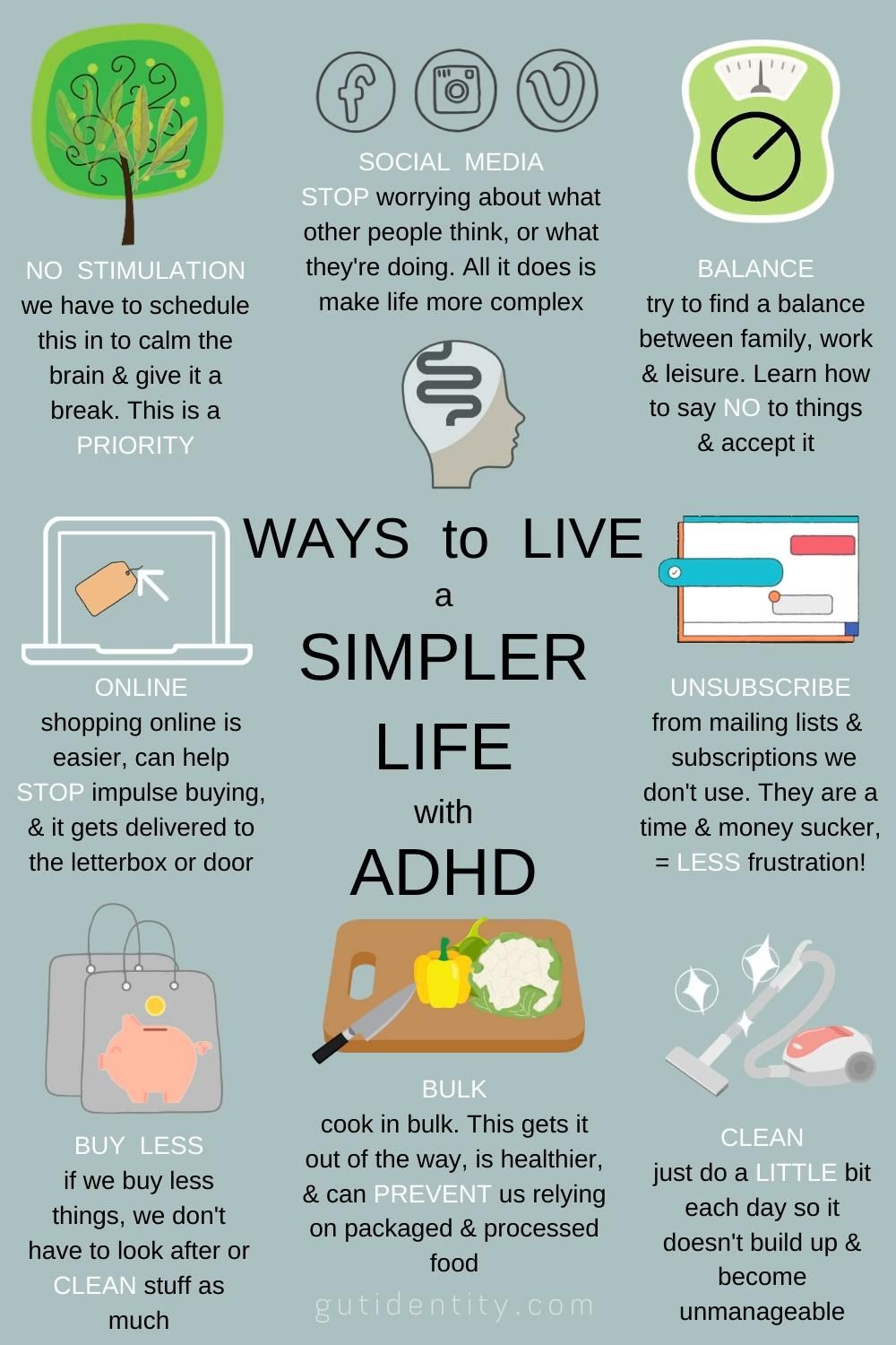 ADHD & A Simpler Way of Living