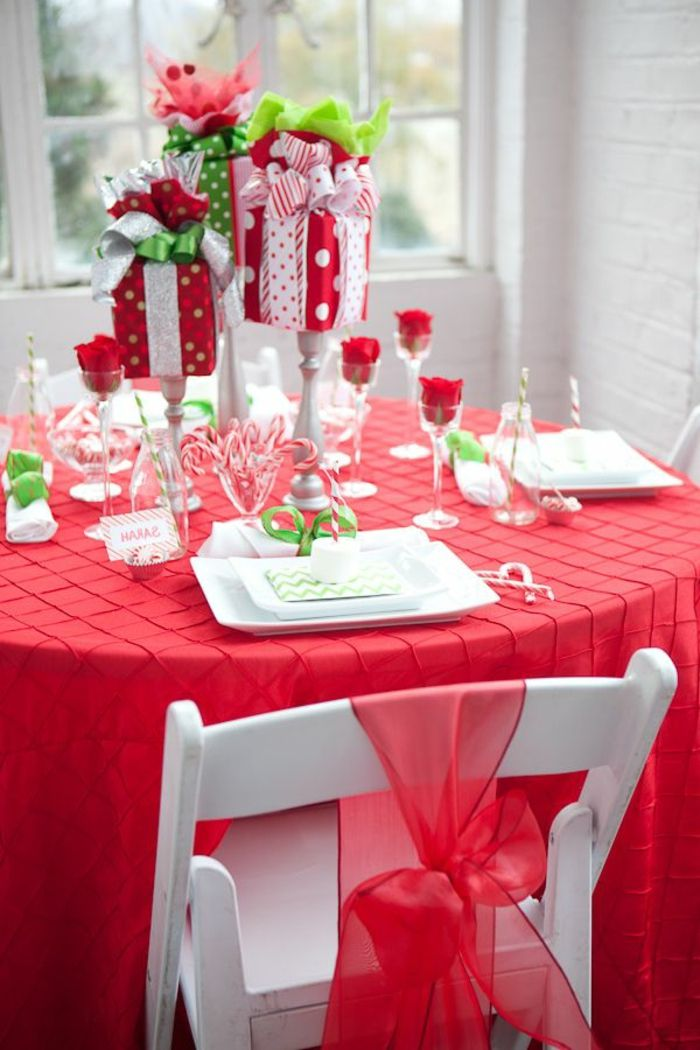 Gift ideas for christmas table