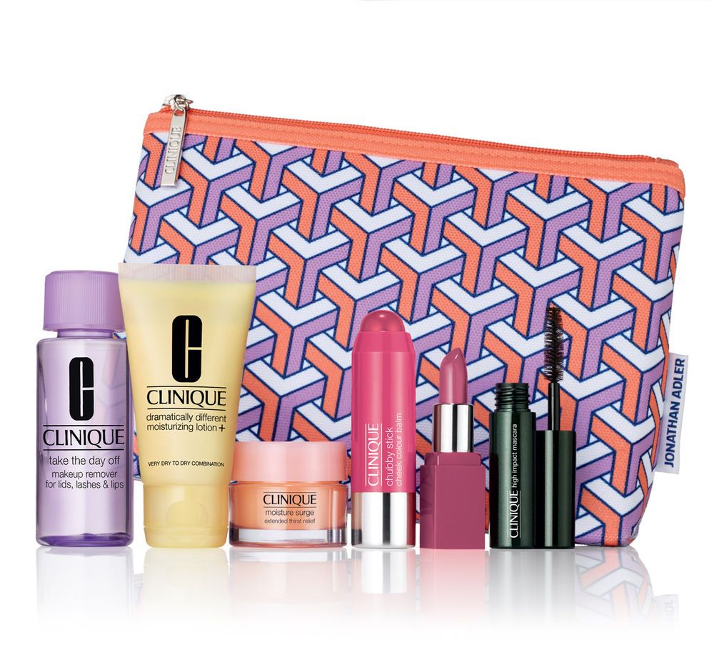 15 Brand New Clinique 7 Pc Fall 2017 Bonus Gift Jonathan Adler